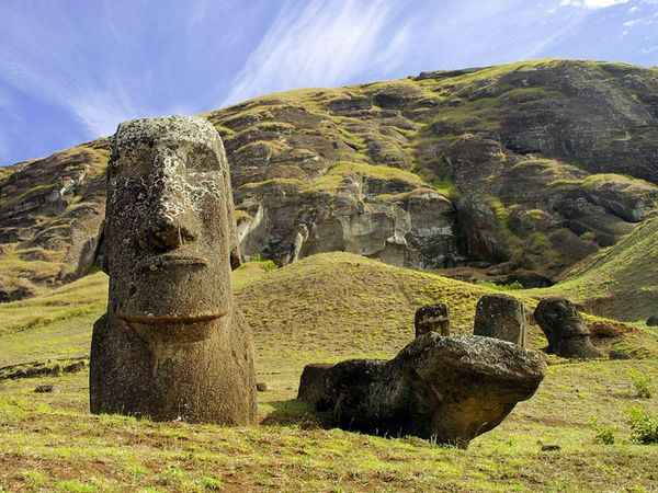 Where Did The Easter Island Rocks Come From
