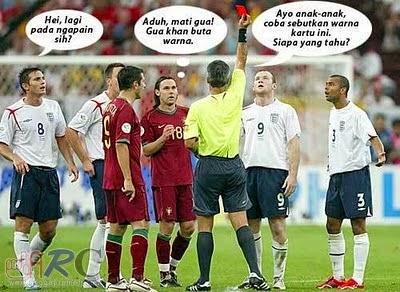 Momen Lucu Komik Sepak Bola