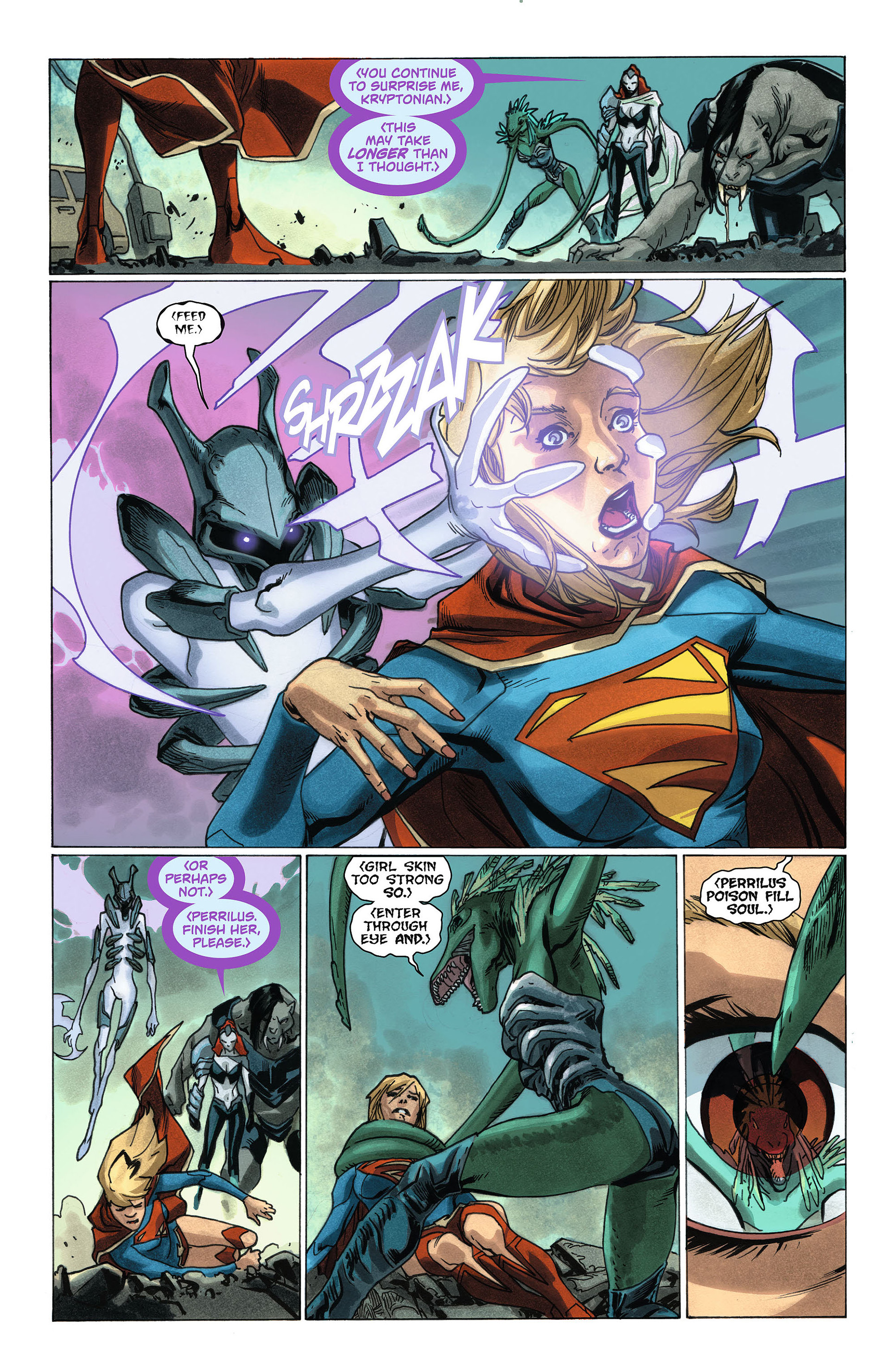 Supergirl (2011) Issue #7 #9 - English 5