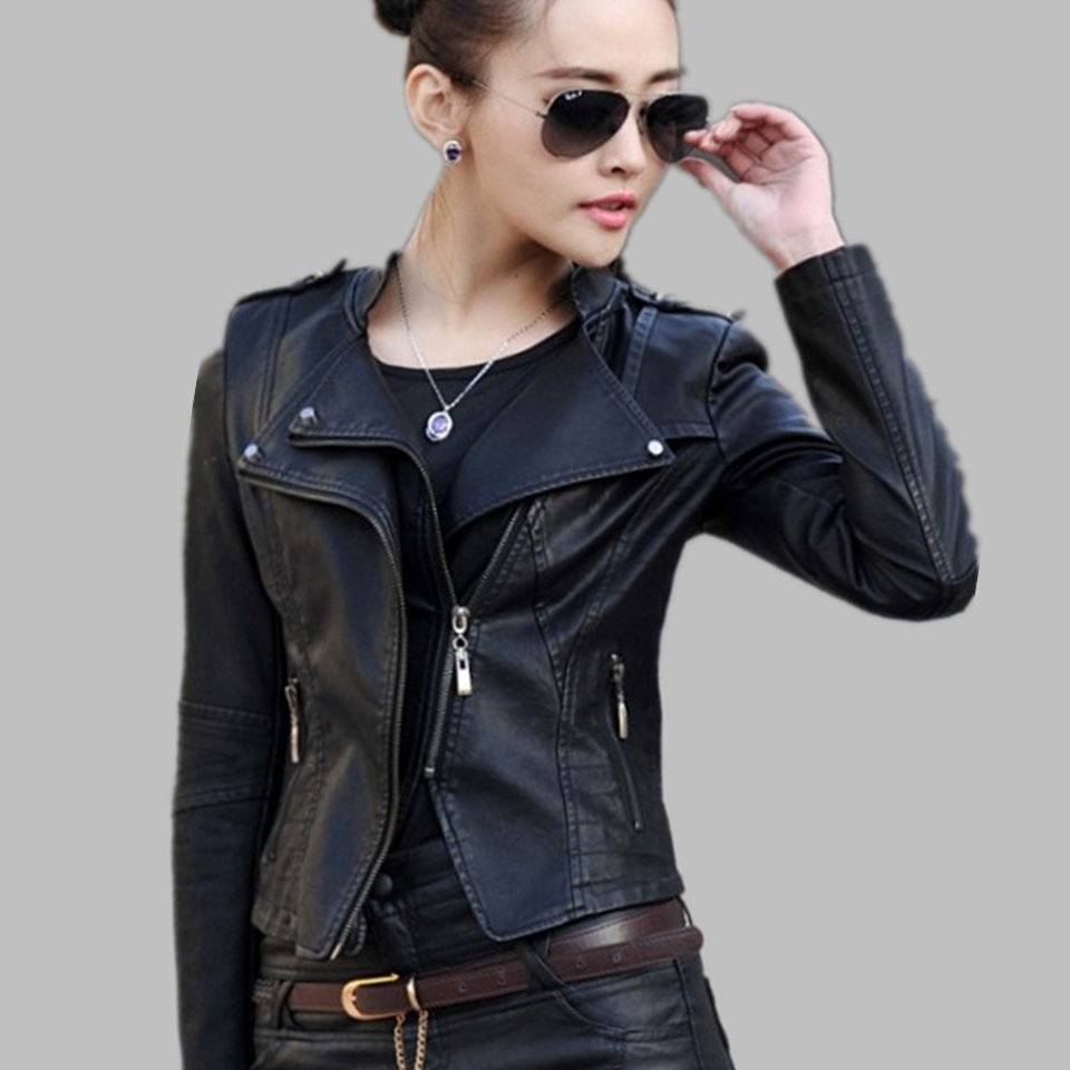 Leather jacket xl size - Womens Leather Biker Jacket 4 Things You Should Know Before Buying It