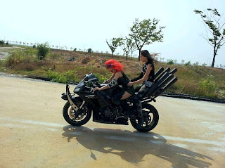 T-ara Day by Day Cool Motorcycle Pictures / Images 2