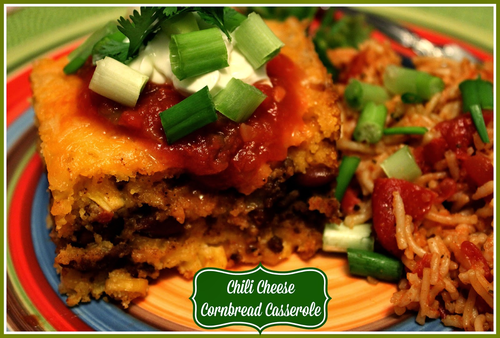 Sweet Tea and Cornbread: Chili Cheese Cornbread Casserole!