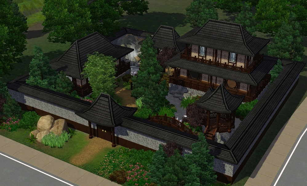 Sims 3 h user h user h user kulturschock for Japanisches haus name