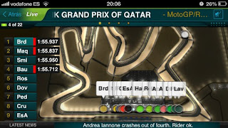 moto gp live experience 2015 iphone