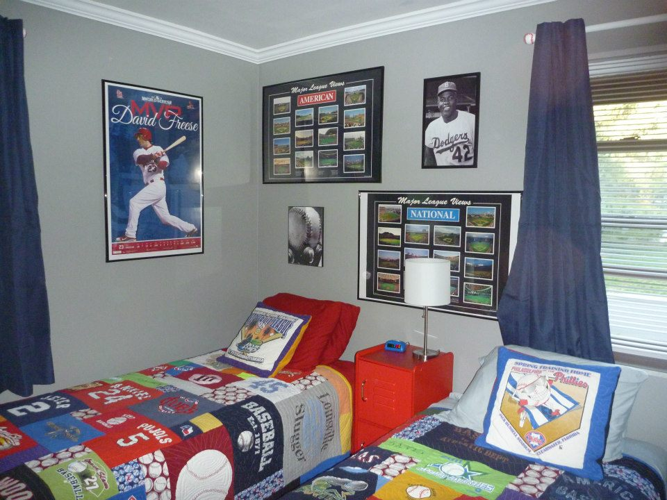 Do It Myself Crafts Baseball Room