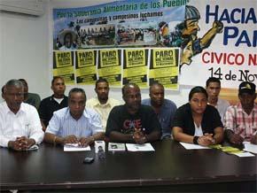 Ratificada convocatoria huelga nacional RD este lunes