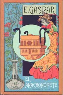 Anacronopete book libro novela cienciaficcion maquina del tiempo time machine