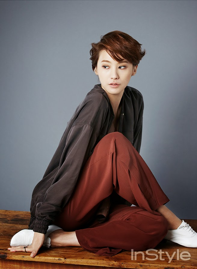 Yoo In Young - InStyle February 2014