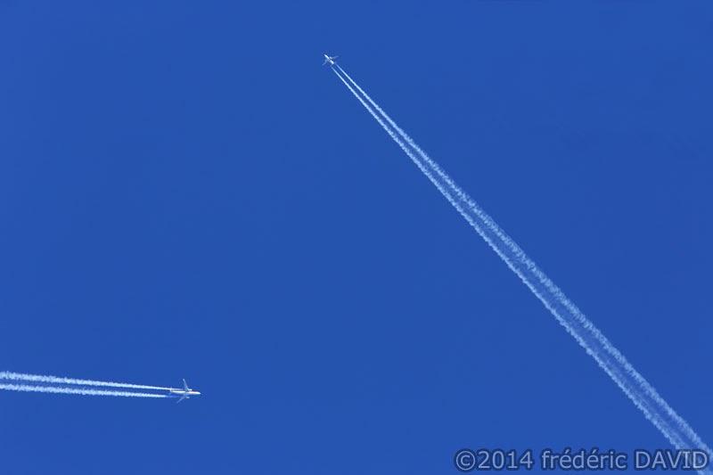 ciel avions bleu