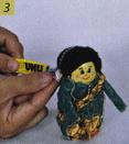 Cara membuat Boneka Jawa Dari Botol Bekas step 3