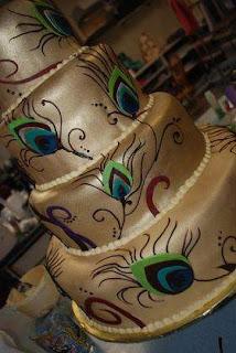 Special Peacock Wedding Cake Ideas
