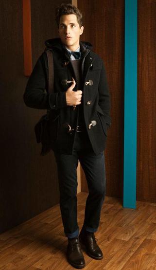 Massimo Dutti hombre invierno 2012