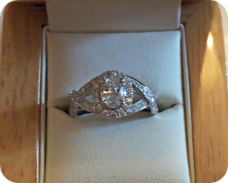 A pictue of my Diamond Ring from Diamond Heaven