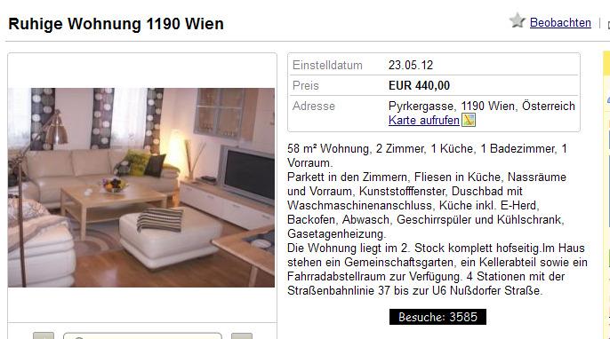 die wohnung 42 m ist komplett eingerichtet 420 pro monat langstra e 19 6020 innsbruck. Black Bedroom Furniture Sets. Home Design Ideas