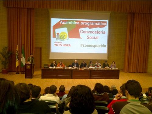 Intervención de Carlos Martinez, Primer Secretario de Alternativa Socialista (CLIAS), en la Asamblea programática de IU, invitado a saludar en nombre de la fuerza ecosocialista a la que representa