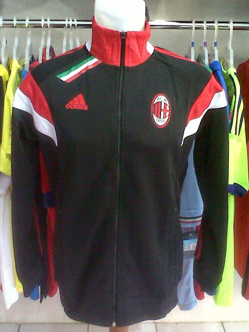 Jaket AC Milan Black 2014/2015