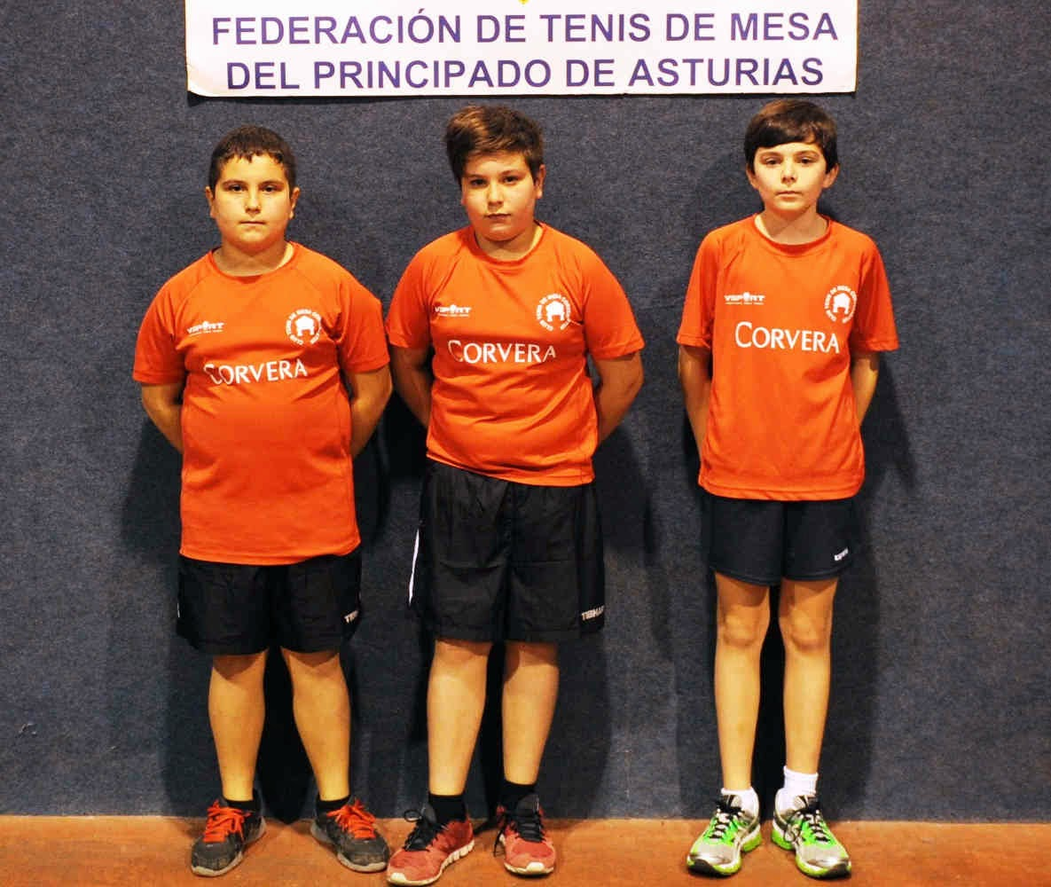 Campeonato de Asturias alevín de equipos 2014