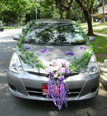 Simple Wedding Car Decorations Ideas