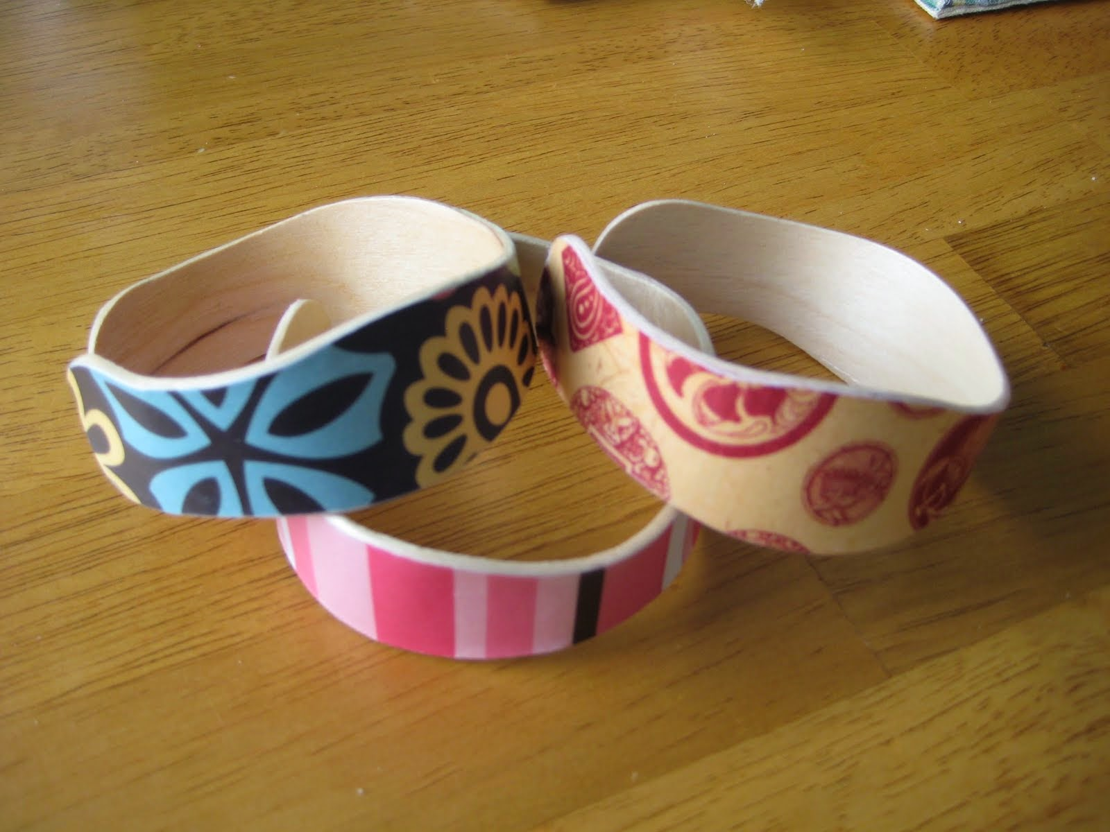 Bracelets From Popsicle Sticks
