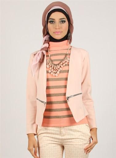 model blazer wanita muslimah 2015/2016