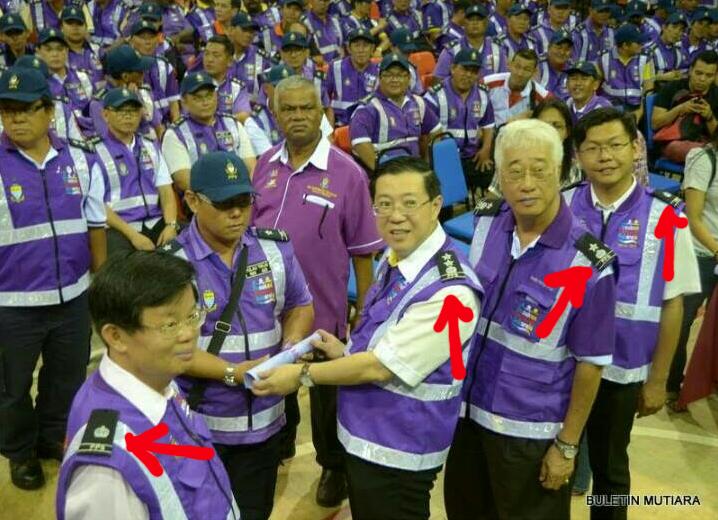 TERKINI 5 GAMBAR PPS KENA TAHAN POLIS selepas perbarisan KPN sahut Cabaran Guan Eng