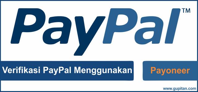 Cara Verifikasi Akun Paypal Menggunakan Payoneer