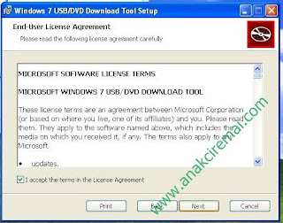 install windows 7 di netbook pakai lashdisk