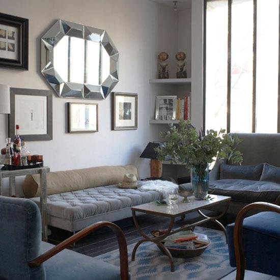 decora y disena salas estilo vintage ideas