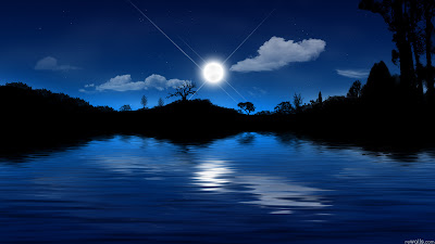 HD Nature Wallpaper Moon Lovers
