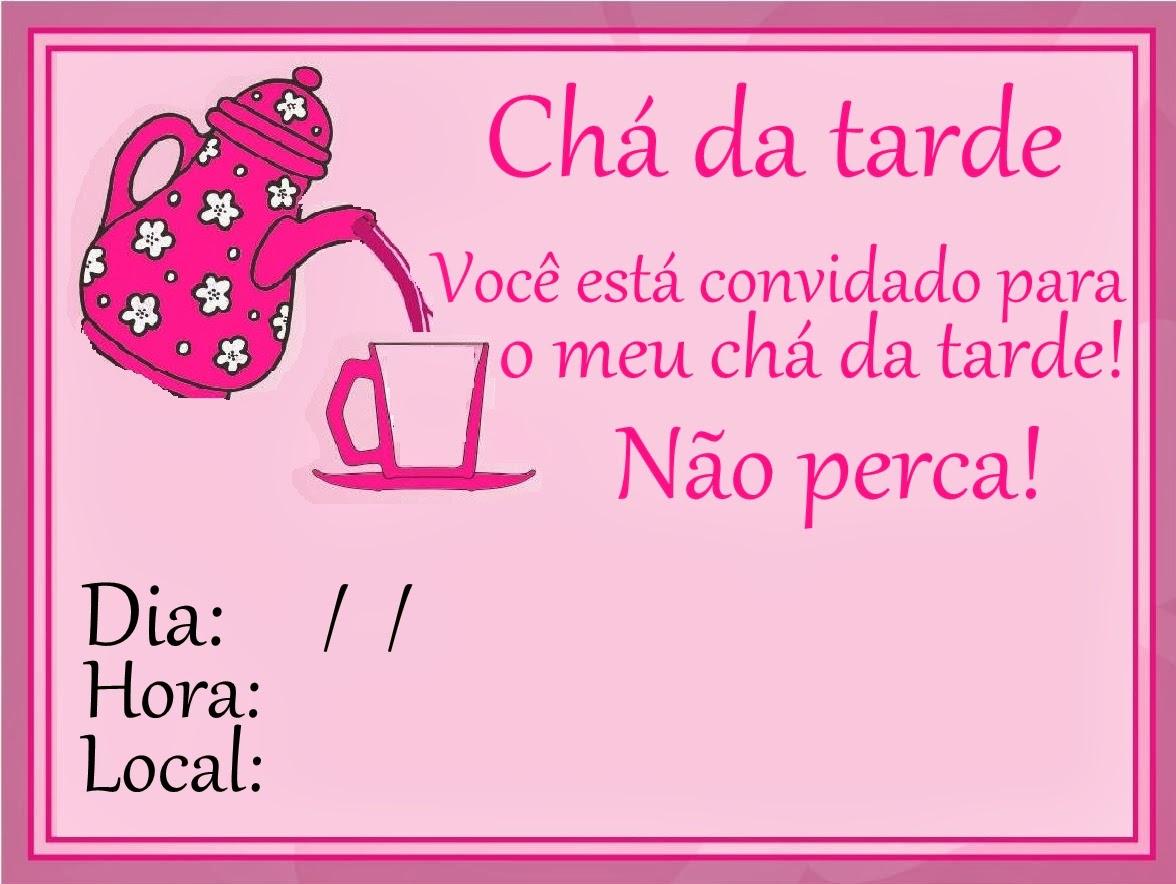 Famosos Patricinhas Sempre Fashion: ♥ Como fazer um chá da tarde BT38