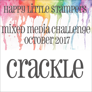+++HLS October Mixed Media Challenge CRACKLE до 31/10