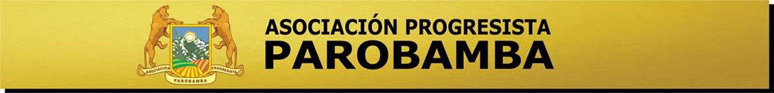 Asociación Progresista Parobamba