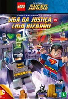 Lego DC Comics Super Heróis: Liga da Justiça vs Liga Bizzarro - DVDRip Dual Áudio