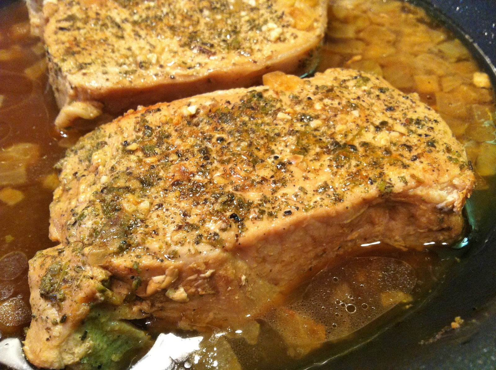 Pleasant Pork Chops Recipe — Dishmaps