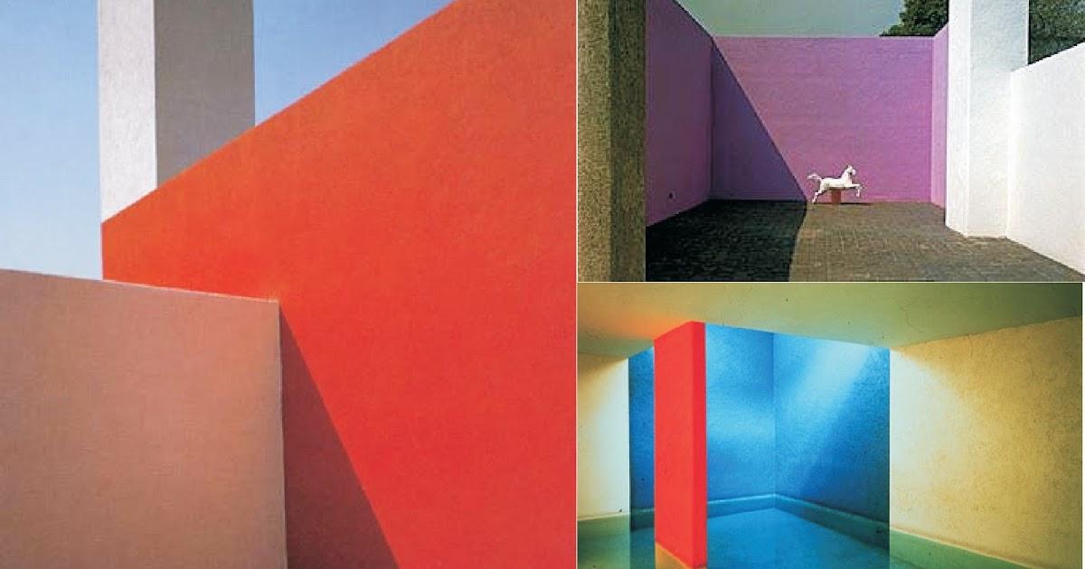 LUIS BARRAGAN (1902-1988) Mexican Architect - Poetic ...