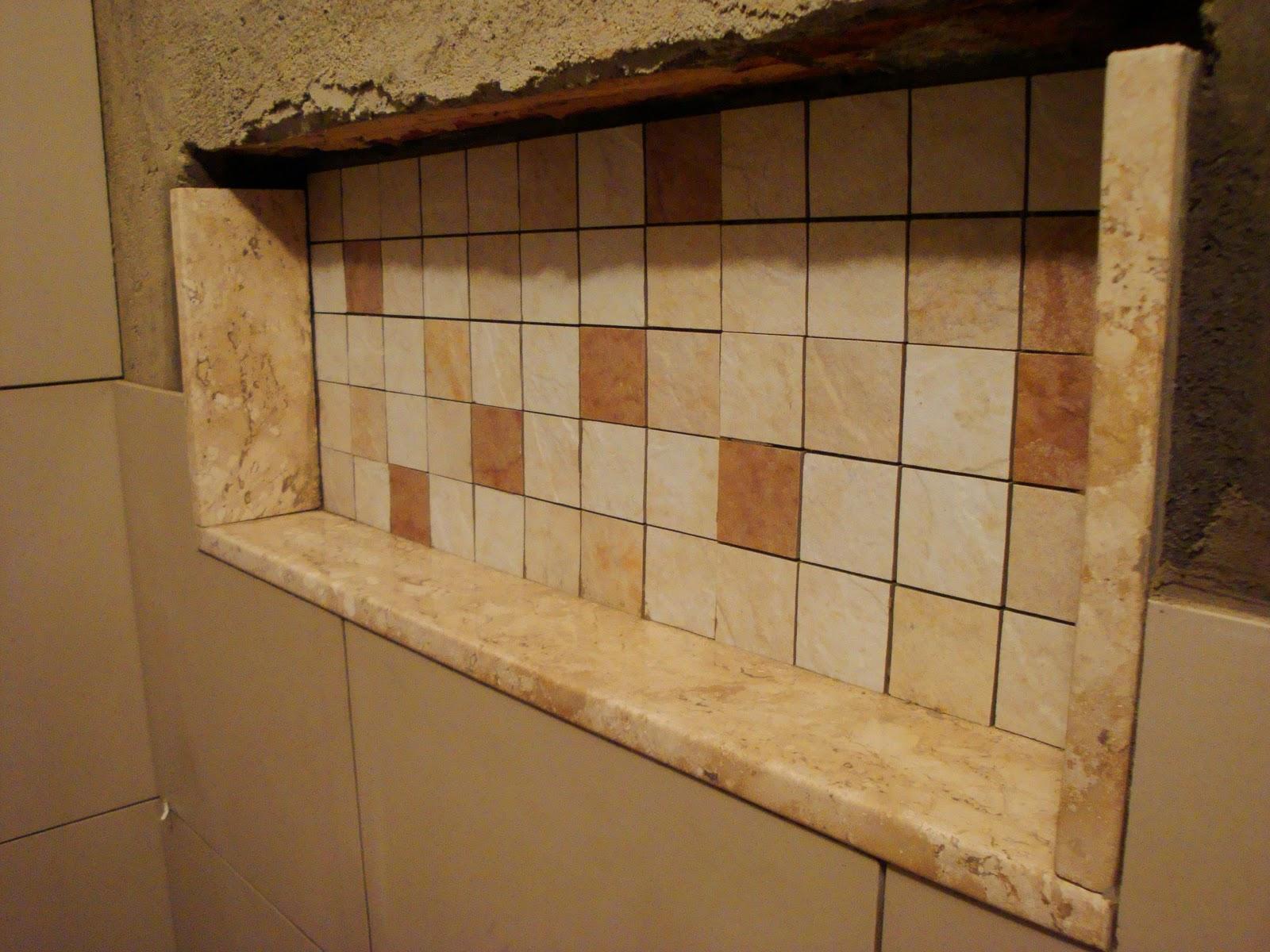 Reforma do Banheiro: Nicho para o Banheiro #332010 1600x1200 Banheiro Container Bahia