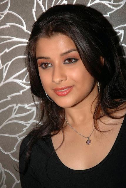 Madhurima In Black Dress