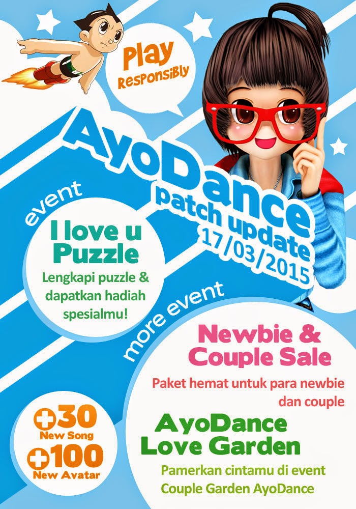 Informasi Patch AyoDance 17 Maret 2015 vazdancer