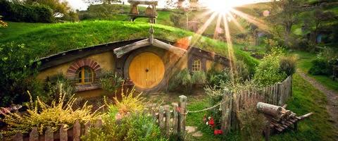 Hobbiton El Señor de los Anillos