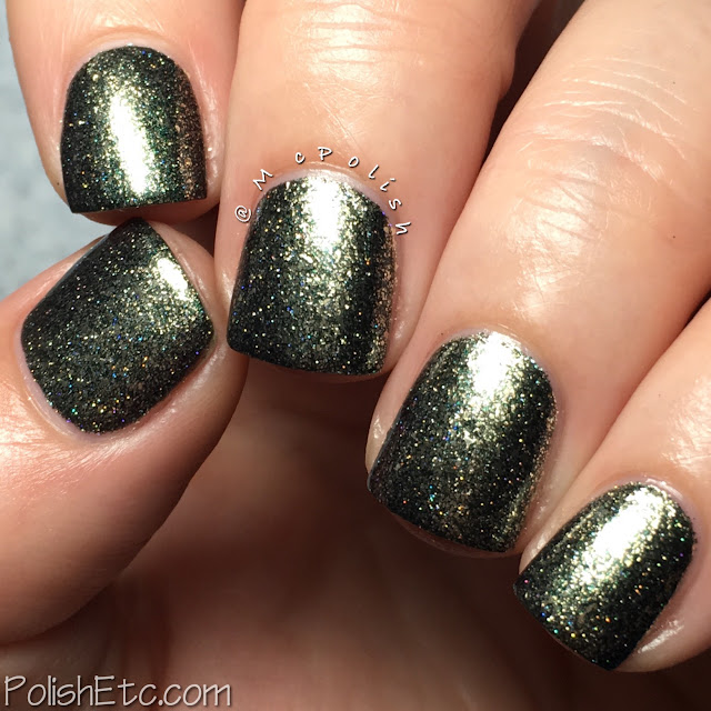 KBShimmer - Birthstone Collection - McPolish - Black Pearl