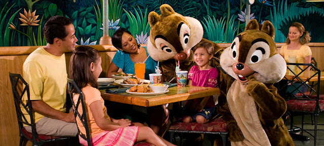 Comida personajes Disney