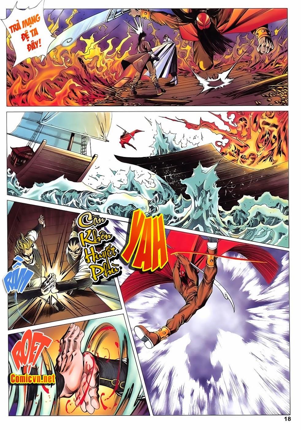 Lục Đạo Thiên Thư chap 15 - Trang 18