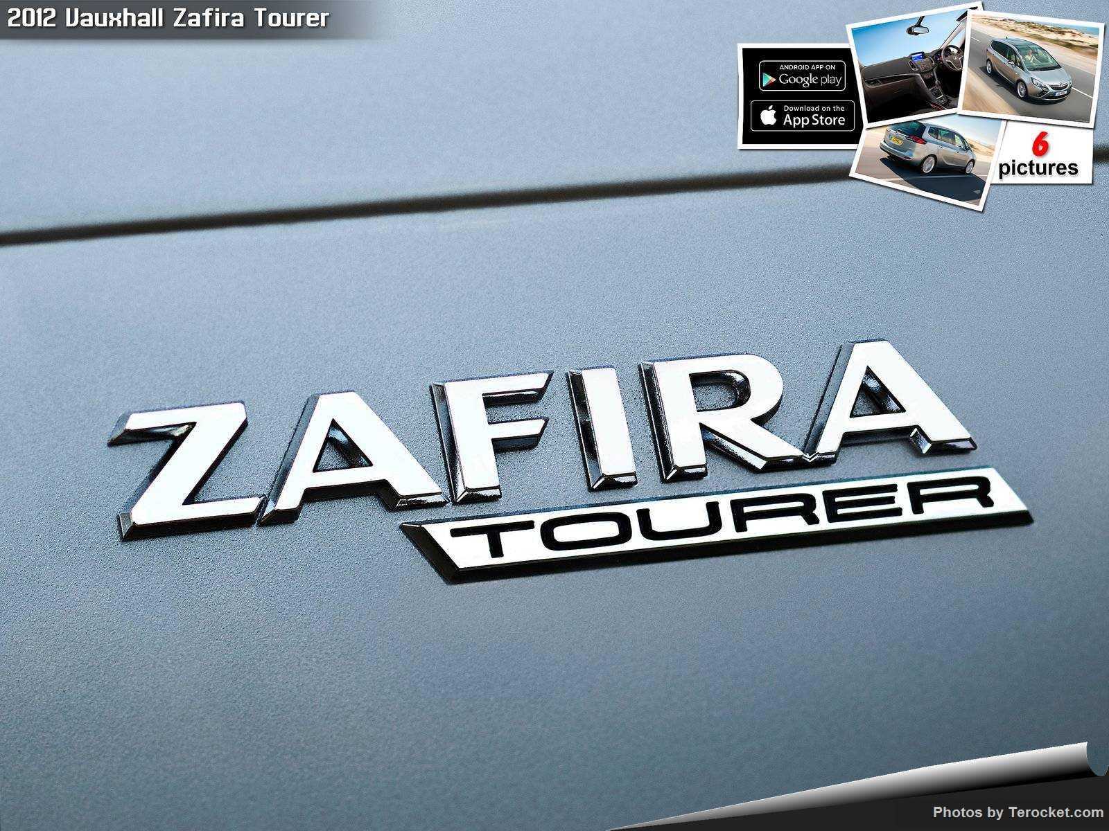 Hình ảnh xe ô tô Vauxhall Zafira Tourer 2012 & nội ngoại thất