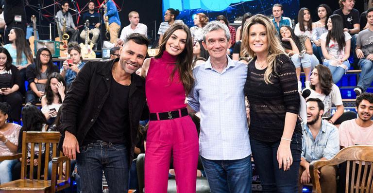 Serginho Groisman elogia o trabalho de Marina Moschen em Deus Salve o Rei