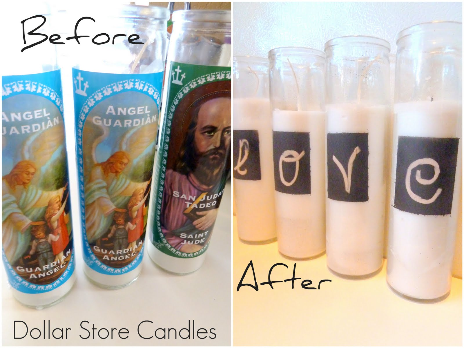 how to get dust off of candles