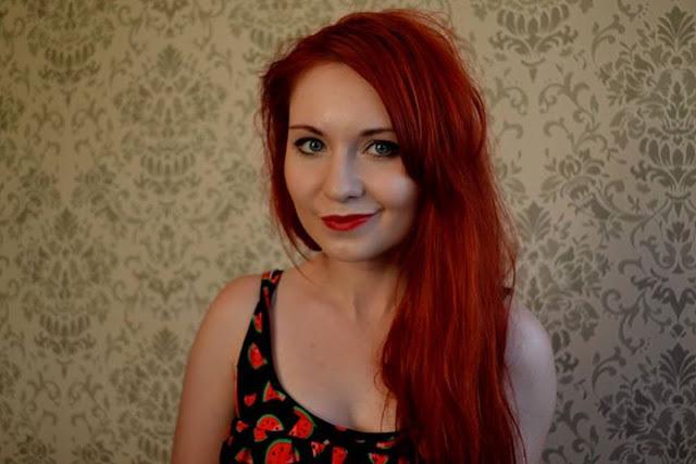 Moje czerwone włosy - ich historia, pielęgnacja włosów farbowanych oraz farby jakie używałam.