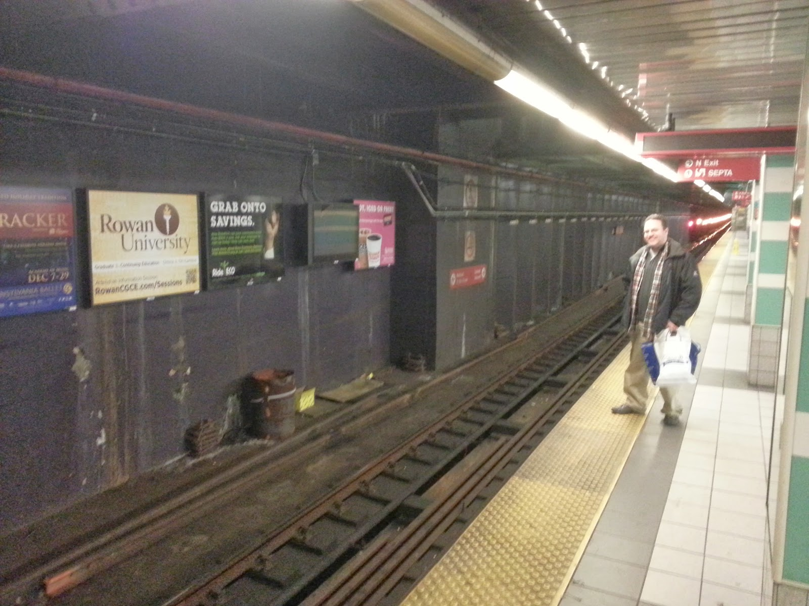 Much like TSW, this subway contains an in-universe reference to the blog author.