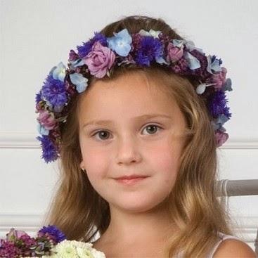 Coronas de Flores Naturales, Niña de las Flores