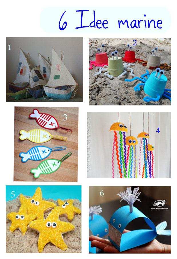 6 idee marine da realizzare con i bambini