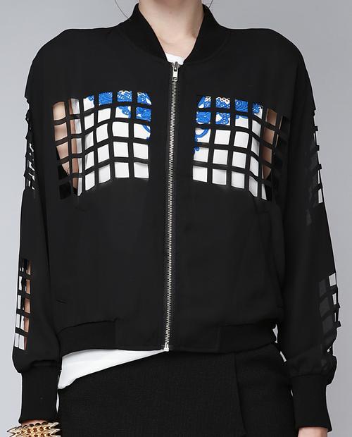 Neo Laser Cut Jacket